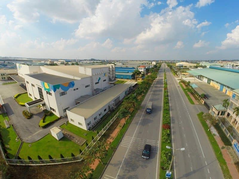Thị trường bất động sản công nghiệp Việt Nam đang thu hút mạnh các nhà đầu tư nước ngoài. (Nguồn ảnh: Internet)