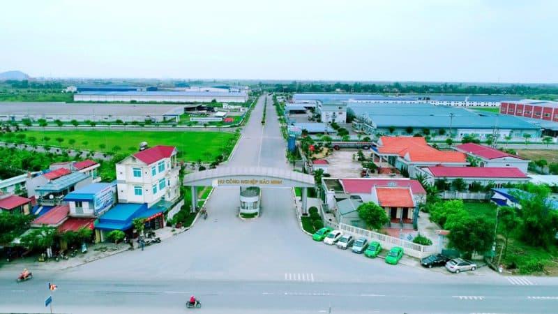 Khu công nghiệp Bảo Minh (huyện Vụ Bản, tỉnh Nam Định) tập trung nhiều nhà đầu tư trong và ngoài nước. (Nguồn ảnh: Internet)
