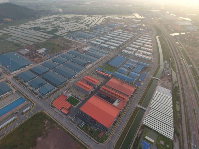 """Với lợi thế sẵn có cùng chính sách """"trải thảm đỏ"""" mời gọi đầu tư, thị trường bất động sản công nghiệp Bắc Giang ngày càng khởi sắc với nhiều nhà đầu tư (Nguồn ảnh: Fugiang)"""