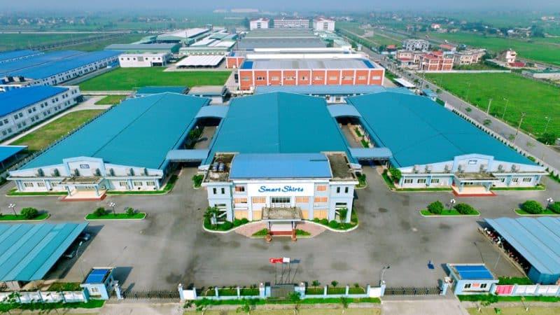 Toàn cảnh KCN Bảo Minh, nơi được coi là KCN kiểu mẫu của Miền Bắc (Nguồn ảnh: Internet)