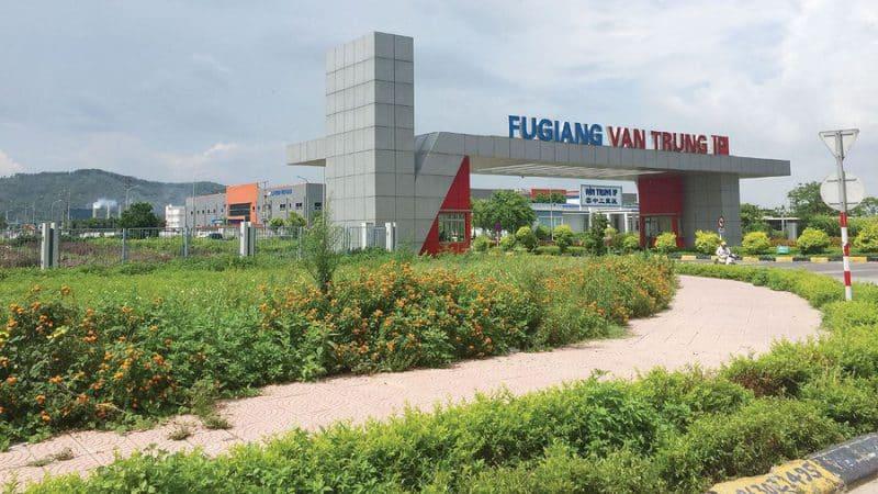 Khu công nghiệp Vân Trung (Nguồn ảnh: Internet)