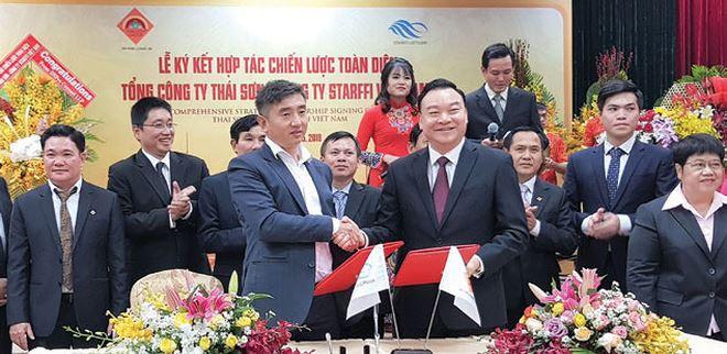 Tổng công ty Thái Sơn hợp tác với Starffi phát triển bất động sản công nghiệp