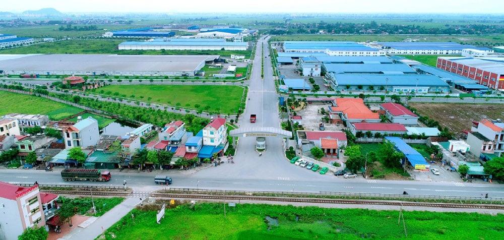 Khu công nghiệp Bảo Minh nằm ở huyện Vụ Bản – tỉnh Nam Định là tỉnh dệt may lớn nhất Việt Nam
