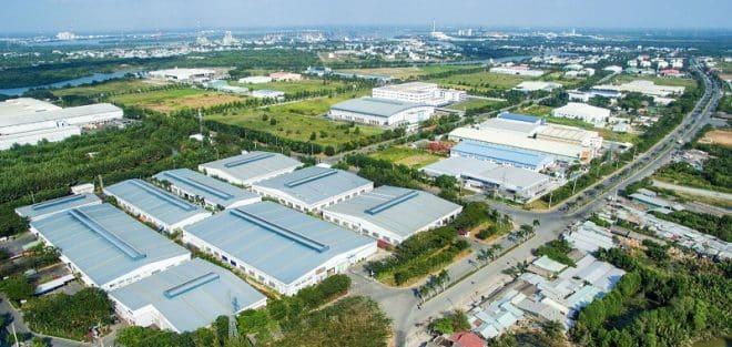 Việt Nam hiện có khoảng 223 khu công nghiệp đã đi vào hoạt động với tỷ lệ lấp đầy cao