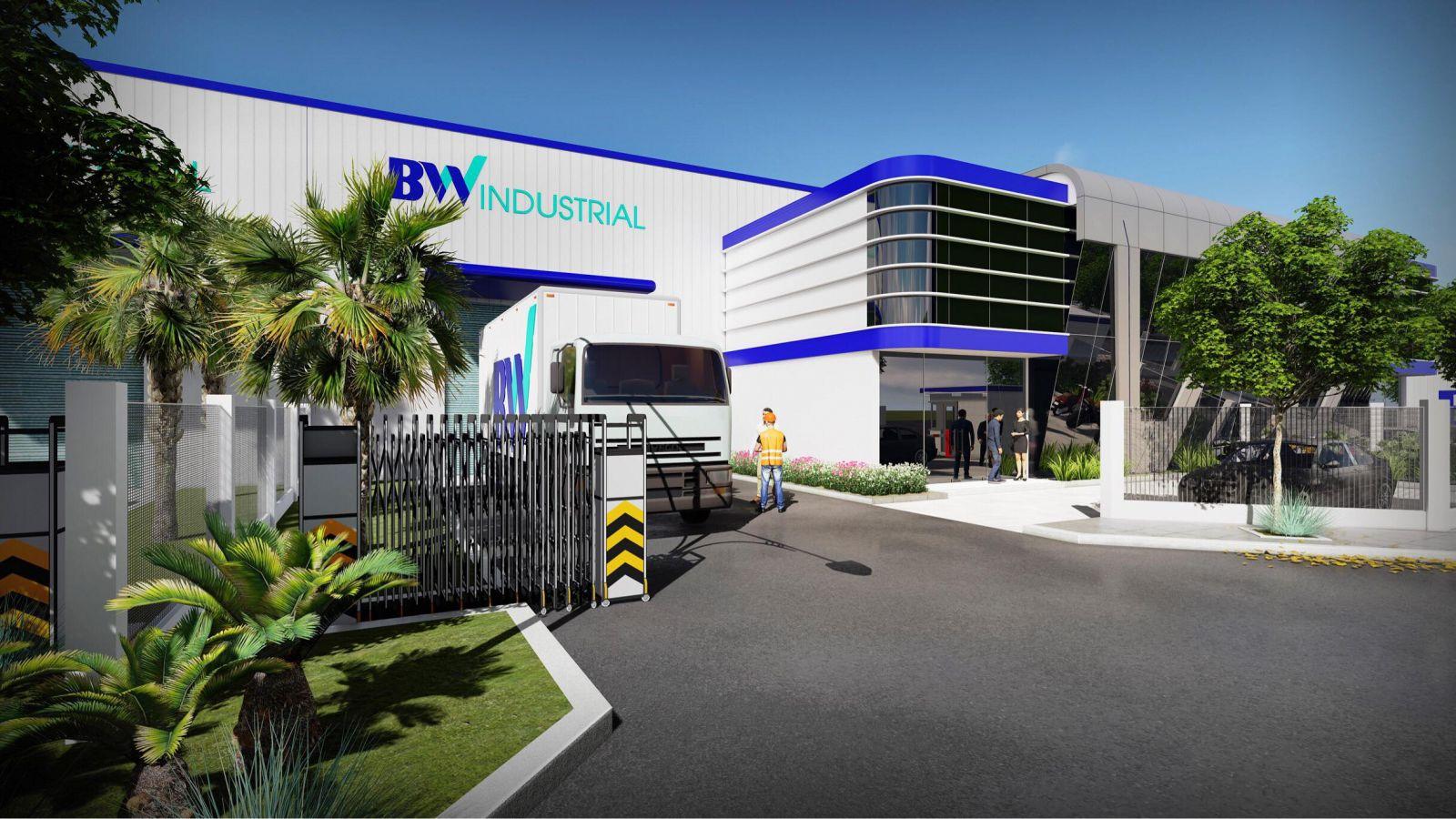 Khuôn viên Khu công nghiệp VSIP Bắc Ninh, một trong những dự án của BW Industries, một trong những nhà phát triển bất động sản công nghiệp hàng đầu Việt Nam (Ảnh: BW Industries)