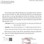 Thông báo về việc lùi thời gian tổ chức diễn đàn BĐS Công nghiệp Việt Nam 2020 – lần 2