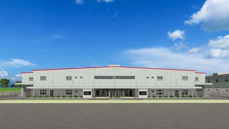 Thiết kế nhà xưởng xây sẵn giai đoạn 2 của Boustead Projects Land tại khu công nghiệp Nhơn Trạch 2