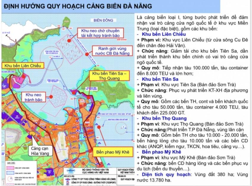 Dinh Huong Quy Hoach Cang Bien Da Nang