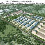 KCN Tam Thăng 2: Phát huy lợi thế thu hút nhà đầu tư